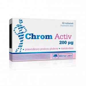 Olimp Chrom Activ - jeden z popularnych suplementów z chromem.