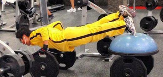 Trening dla inwalidy